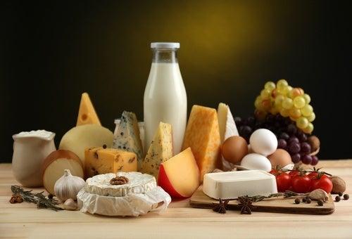 Alimentos com cálcio para os ossos