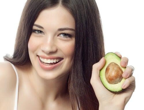 Abacate para melhorar a saúde da pele