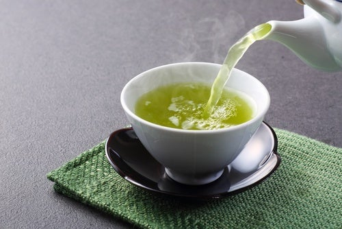 chá verde para combater a depressão