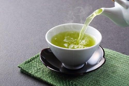 o chá verde é um dos mais conhecidos queima-gorduras