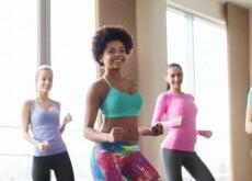 Aula de dança para modelar o corpo
