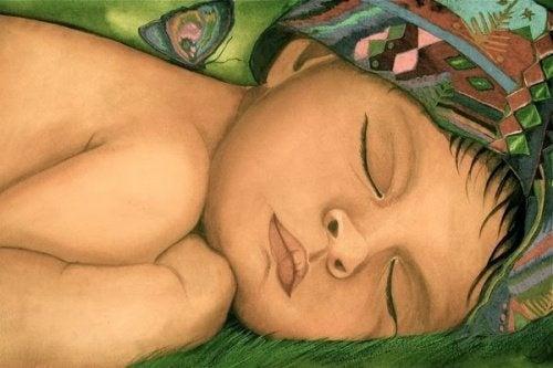 Bebê dormindo