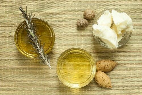 Creme nutritivo feito com manteiga de Karité e azeite de oliva