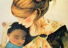 A importância dos abraços para as crianças