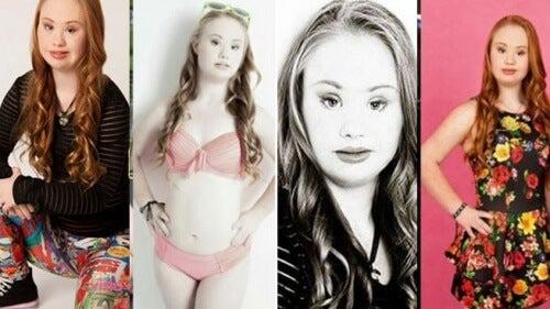 Modelo com síndrome de Down triunfa em Nova York