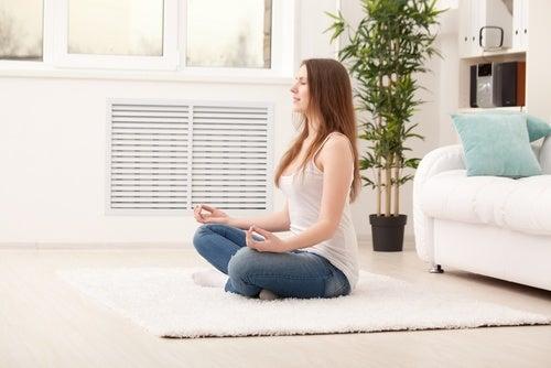 Pratique uma meditação antiestresse em casa