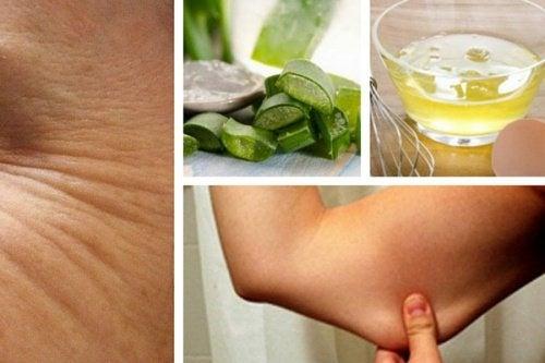 Remédios caseiros para reafirmar a pele