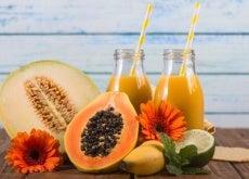 Remédio com mamão papaia para a distensão abdominal