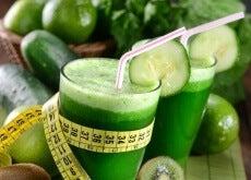 Sucos verdes para queimar gordura