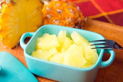 A dieta do abacaxi