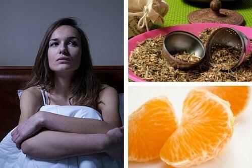 Infusão tranquilizante para combater a insônia