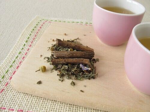 Ervas para chá anti-inflamatório