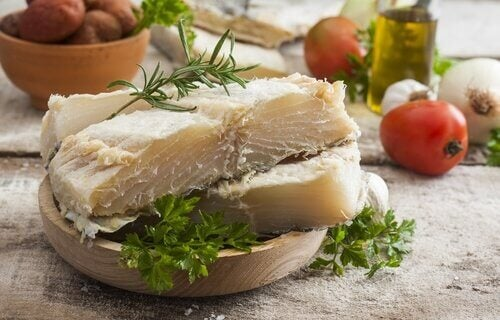 Bacalhau para aumentar o iodo no corpo