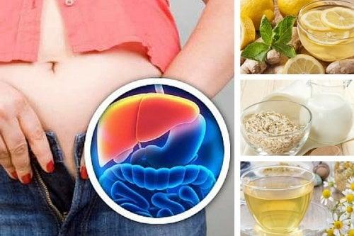 5 bebidas noturnas para desintoxicar o fígado e perder peso