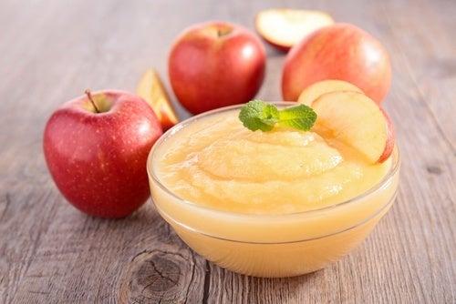 Benefícios da compota de maçã