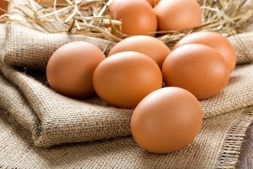 Ovos ajudam a combater a anemia