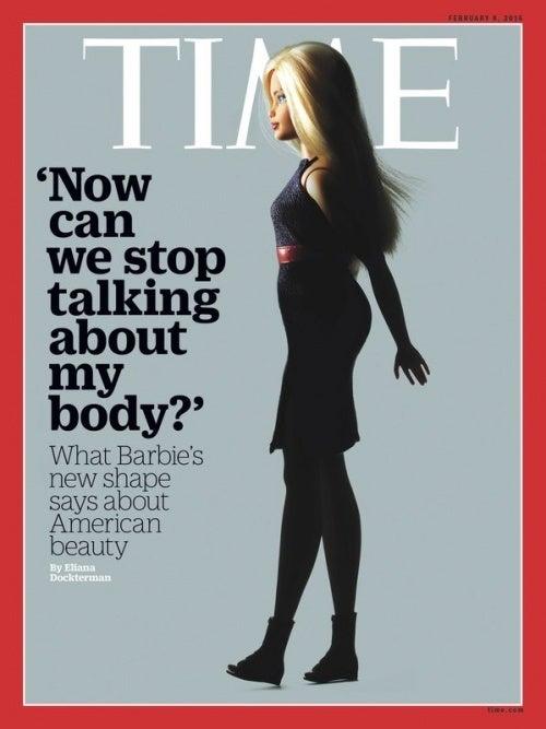 Barbie na revista Time