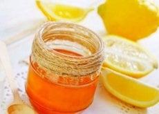 Balas de mel e limão para a tosse