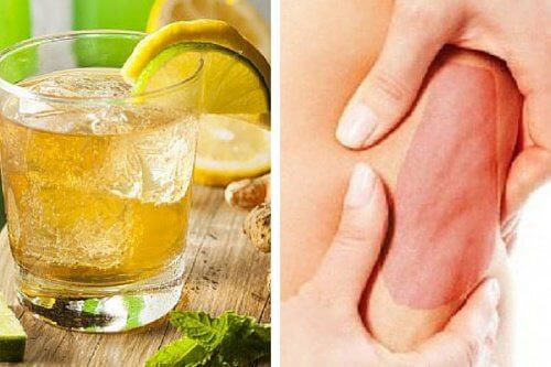 Bebida curativa para combater a celulite do corpo