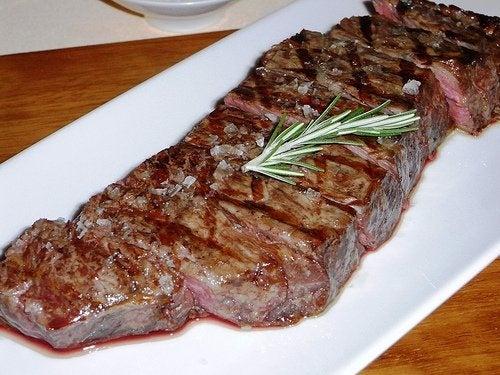 Carne para a saúde da tireoide