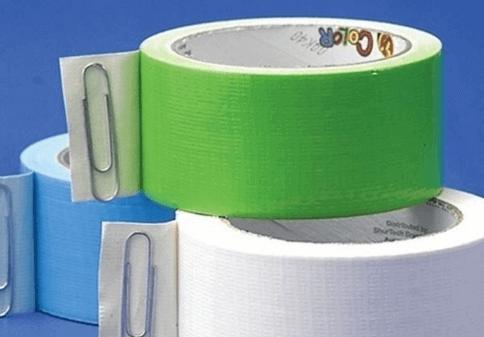 Tarefa de encontrar a ponta da fita adesiva