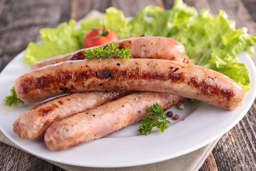 Carnes embutidas dificultam o combate à celulite