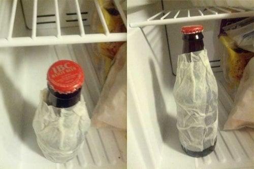 Tarefa de esfriar refrigerante