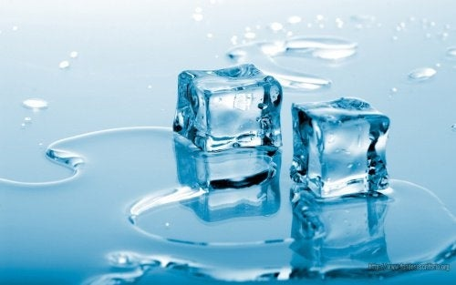 Gelo derretendo