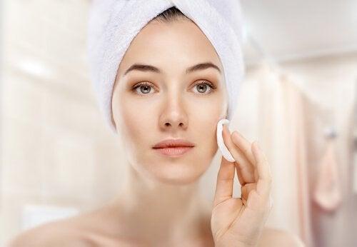 Tratamento para a pele oleosa