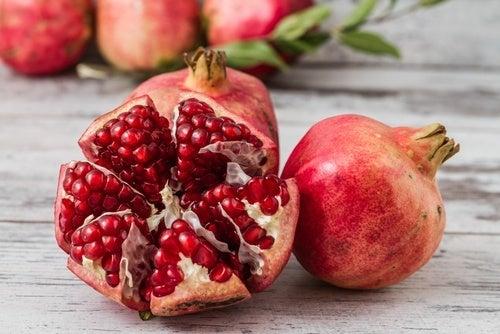 Romã, um dos alimentos anticancerígenos