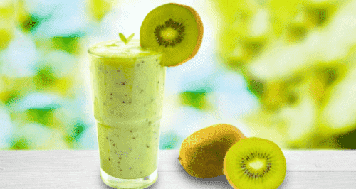 Suco poderoso de melão e kiwi para emagrecer
