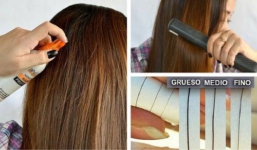 Dicas para usar a prancha nos cabelos