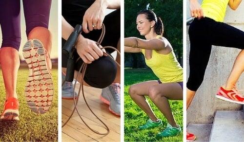 6 exercícios que ajudam a queimar mais calorias