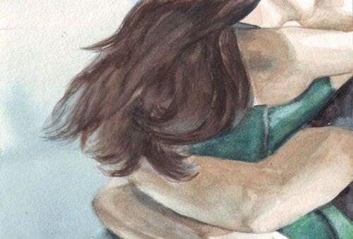 Quero um abraço que apague todos os meus medos