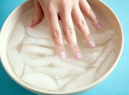 Secar o esmalte em agua