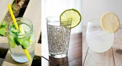 6 deliciosas formas de preparar água para desintoxicar seu corpo