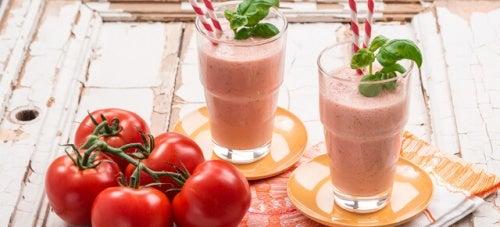 Batida de tomate para aliviar o estresse e a ansiedade