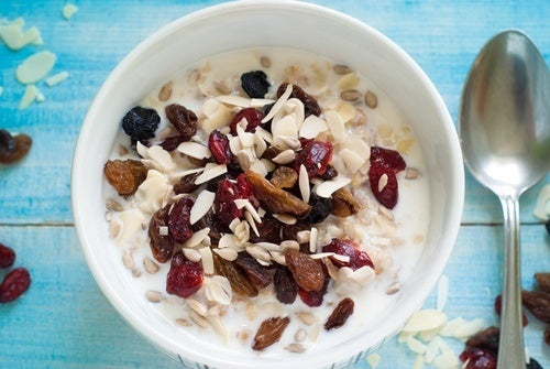Café da manhã para recuperar energia