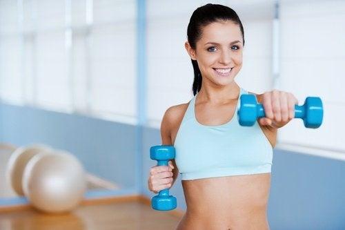 Exercícios para a flacidez nos braços