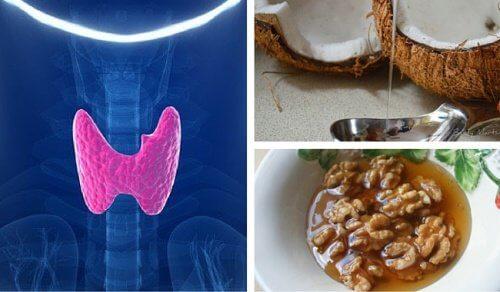 4 remédios para uma glândula tireoide lenta
