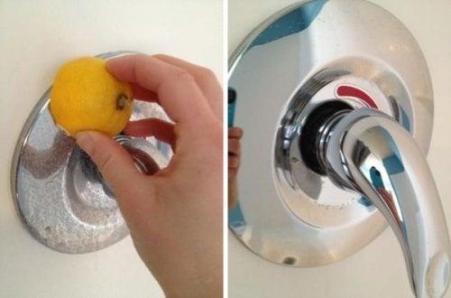 Como limpar torneiras
