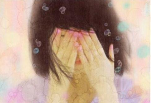 Boa pessoa chorando