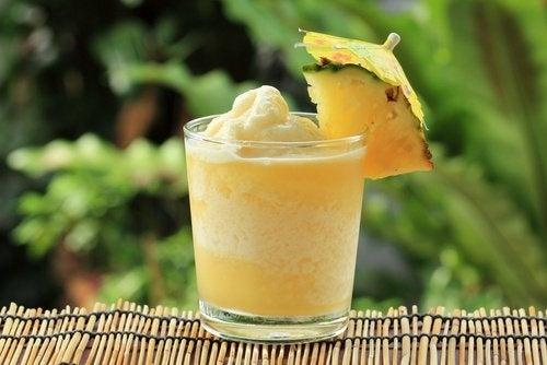 vitamina de abacaxi
