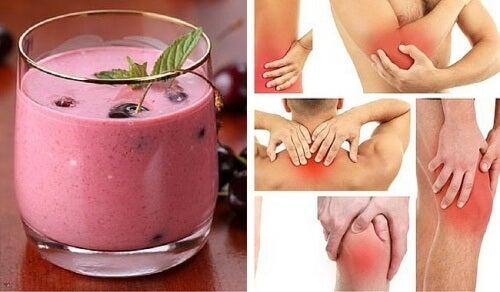 Suco especial para desinflamar e acalmar a dor nas articulações