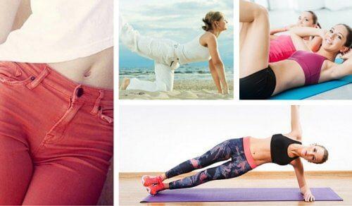 6 exercícios que você pode fazer em casa para obter a cintura dos seus sonhos