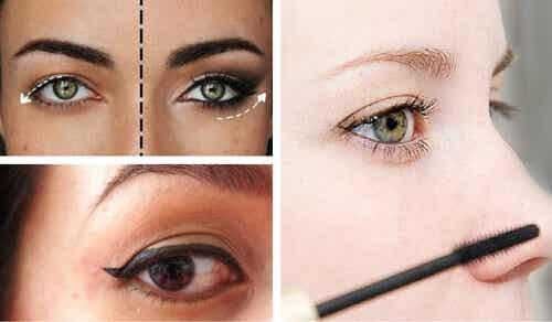 8 truques cosméticos para disfarçar as pálpebras caídas