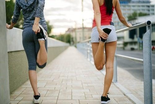 Fazer exercício para evitar esporões