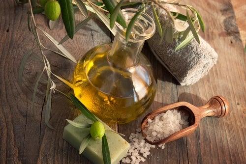 Azeite de oliva para atenuar cicatrizes