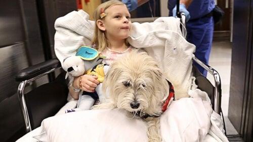 Paciente com mascote