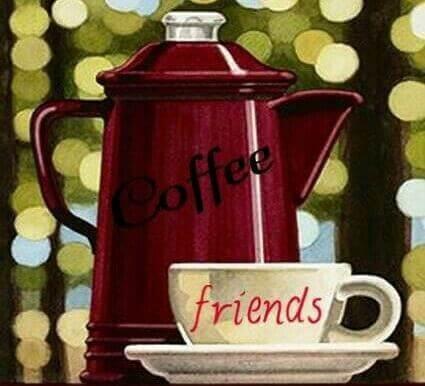 Café para compartilhar com amigos